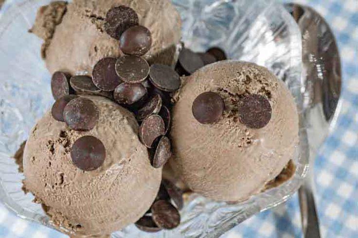 Keto Ice Cream Low Carb Chocolate