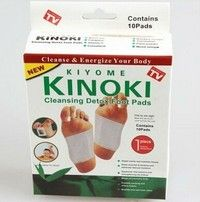 Wish | Foot Patch Kinoki Detox Foot Pads Patches With Adhersive (1box=10pcs) With Box Good Quality
