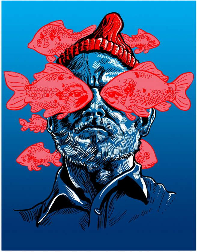 The Life Aquatic with Steve Zissou by Tim Doyle