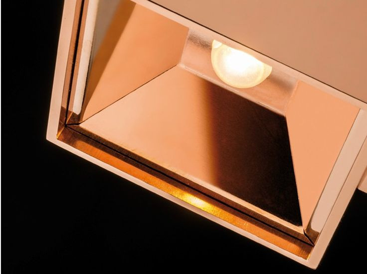 Direct-indirect light wall light DARTLING UP/DOWN | Copper wall light - Technical Architectural Lighting