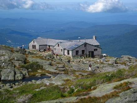 My favorite hut on the way to the peak of Mt. Washington-Lakes of the Clouds-simply breathtaking!!!