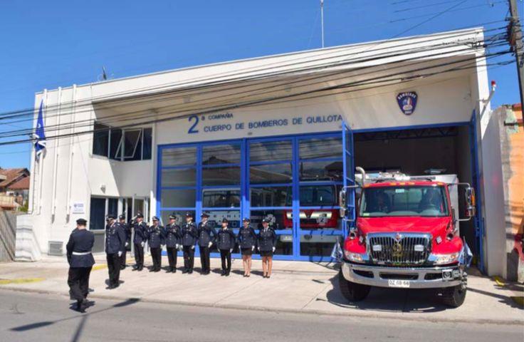Cuartel 2 cia de Bomberos de Quillota, V Región, Chile