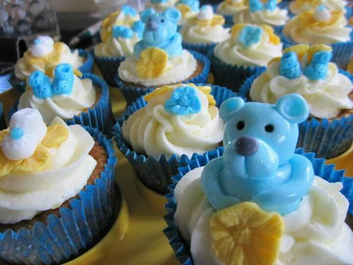 Baby shower  cupcakes Www.facebook.com/Rkdesignsnz