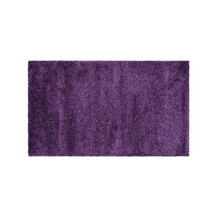 Safavieh Milan Solid Shag Rug, Purple, Durable