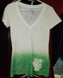 Tattoo Tony's Under My Skin Women's Deep V Tee - exclusively w/ UnPaved Clothing Co
