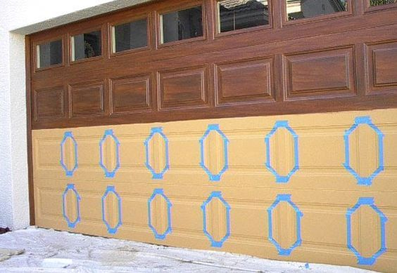 25 Best Ideas About Painted Garage Doors On Pinterest Faux Wood Paint Stained Front Door And