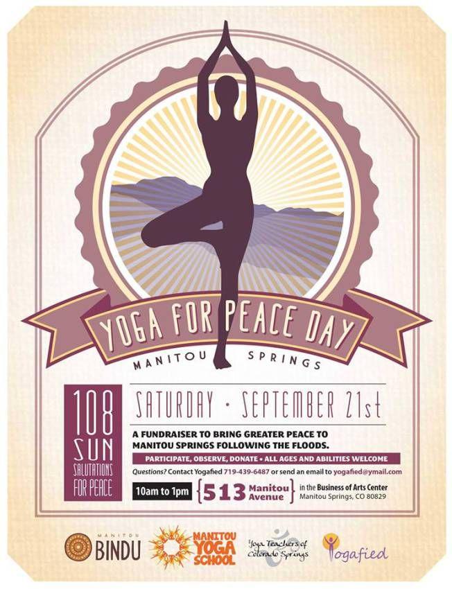 Yoga for Peace Day September 21st, 2013 10-1 p.m.