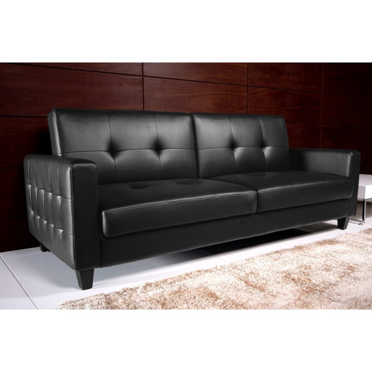 Ameriwood Rome Sofa Sleeper Black Sofas At Hayneedle