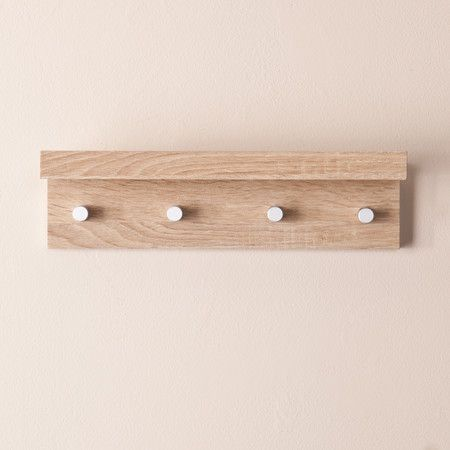 Alexis 4-Hook Wall Rack - The Laundry Station on Joss & Main
