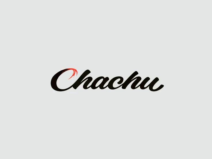 Logo animation for a digital product studio called Chachu.  http://chachu.co/  Letters by @Forsuregraphic