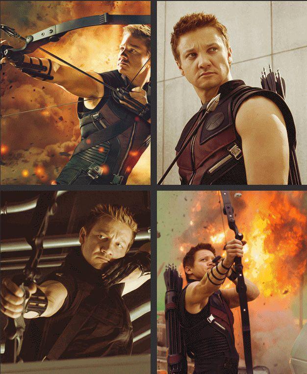 Hawkeye..or my favorite fraudian slip..hot guy ;) :D
