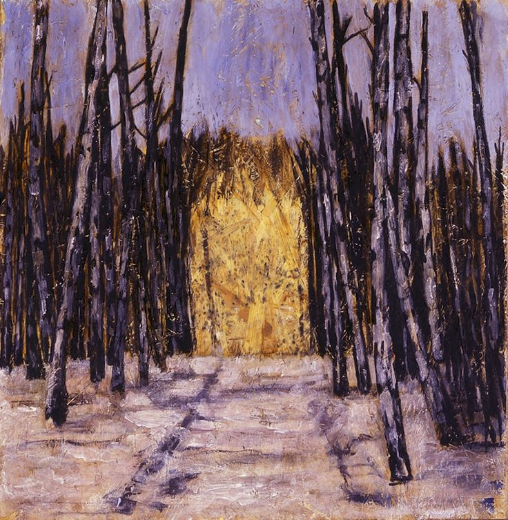 'Birch Grove', 2010 - Markus Lüpertz (b. 1941)