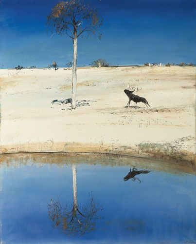 Arthur Boyd Reflected tree 1976