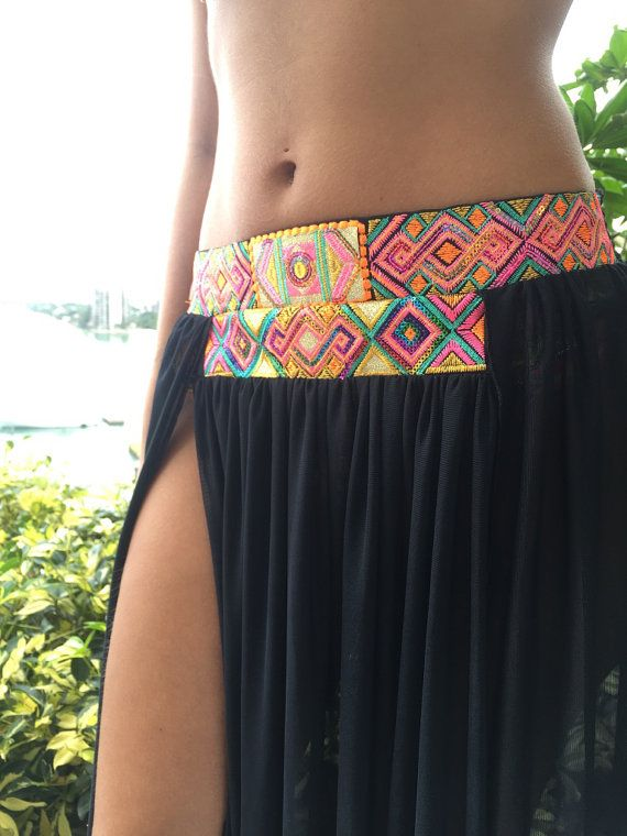 The bottom of the skirt reaches the ankles  Sizes available: S and L  We manufacture and distribute high quality and hand decorated swim