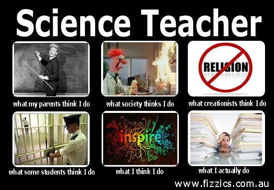 Funny science teachers