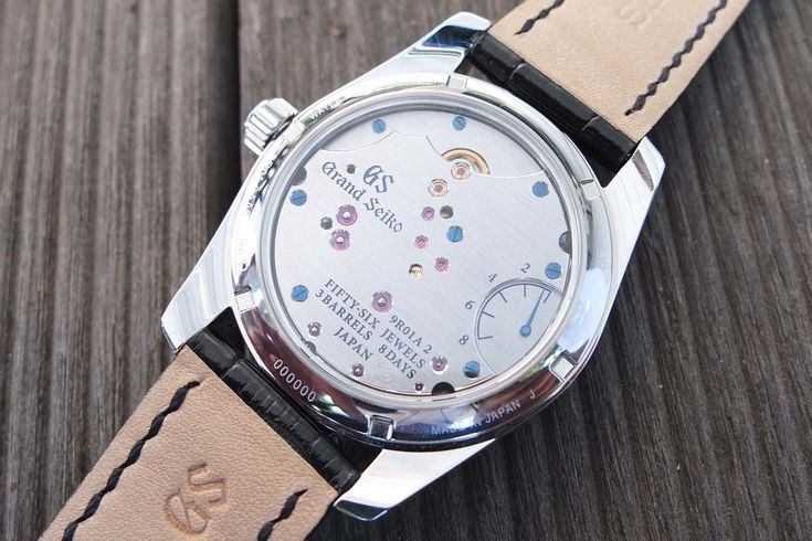 """Grand Seiko Spring Drive 8-Days and what's so """"Seiko"""" about the Spring Drive technology - Monochrome Watches"""