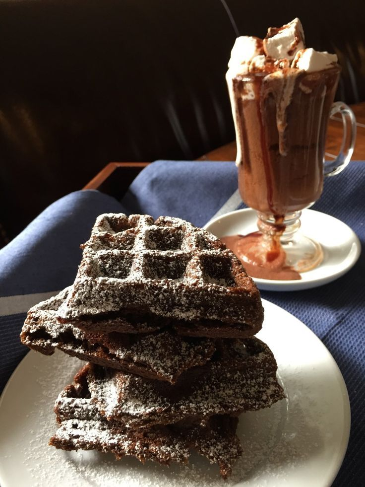 Gingerbread Waffles, yes please!! Gluten free, dairy free, egg free ...