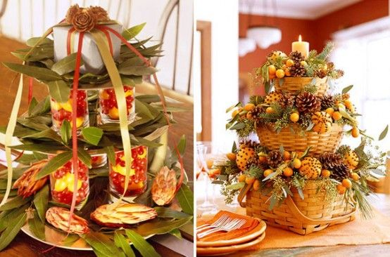THANKSGIVING CENTERPIECES   ... than check out Cool Thanksgiving Decorating Ideas we posted before