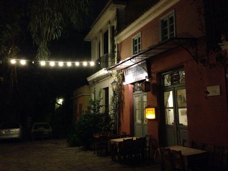 Platanos taverna Athènes