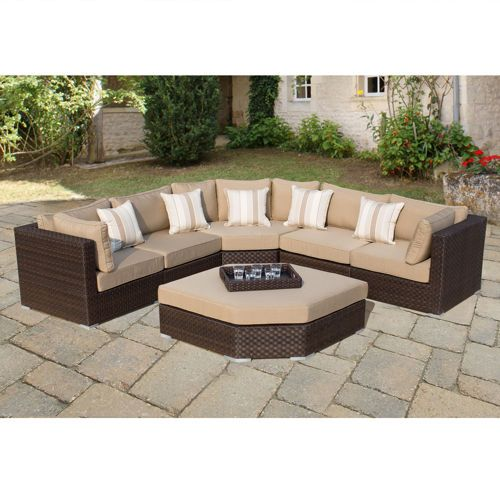 Highland 7 Piece Deep Seating Set By Sirio™ · Mexican PatioPool  BackyardBackyard IdeasHighlandsOutdoor FurnitureTerrace