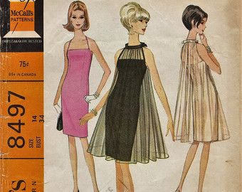 Evening dress patterns vintage 60s furniture