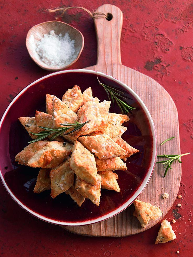 Ein pikantes Gebäck mit Appenzeller Käse für die Grillparty oder den Brunch