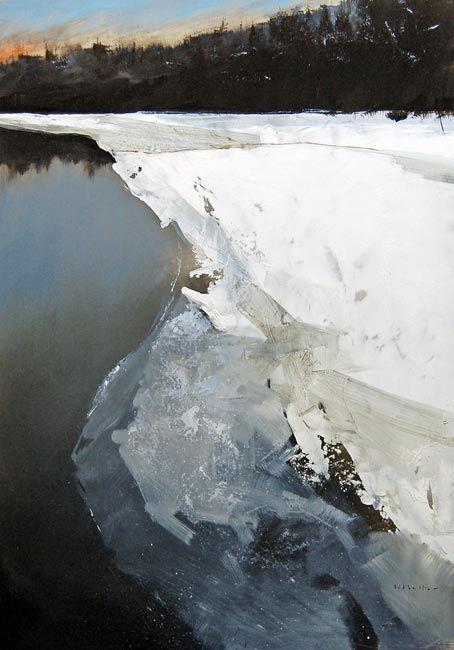 David Lidbetter. Oil on panel.