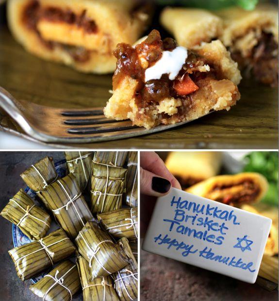 Hanukkah Brisket Tamales Recipe