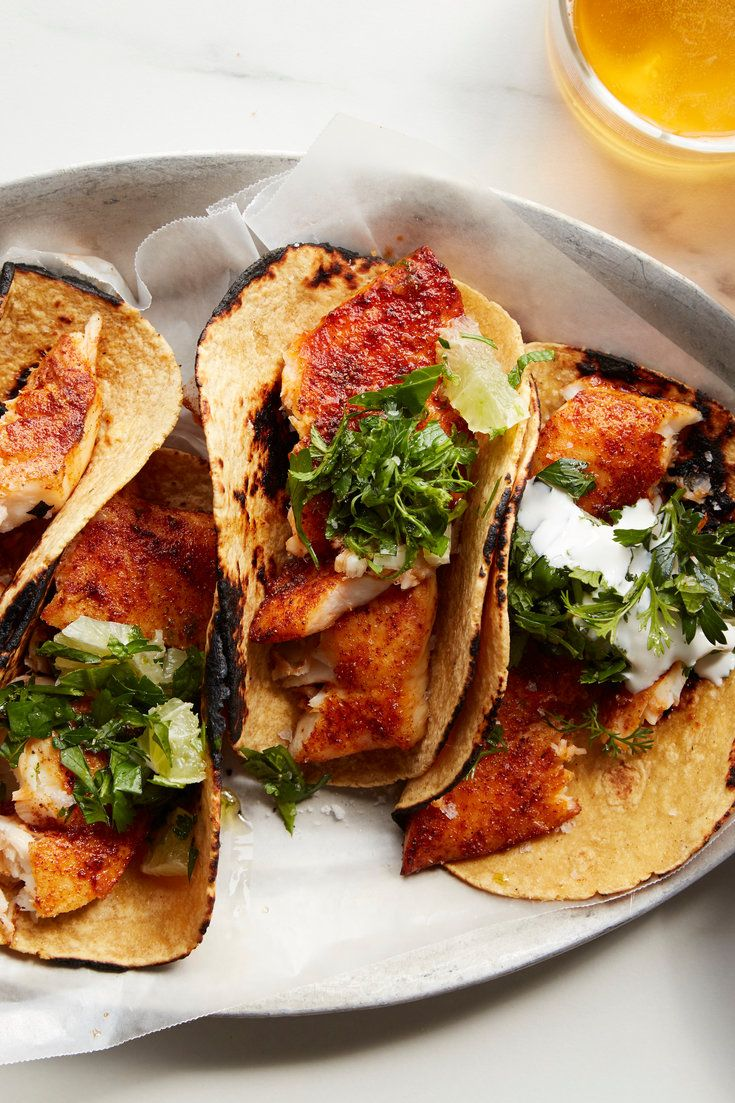 Nyt Cooking There S No Reason To Reserve Fish Tacos For Vacation Or A Night Out Put Your Broiler To Work And Make Them An Easy Weekly Fish Tacos Shredded Chicken Tacos