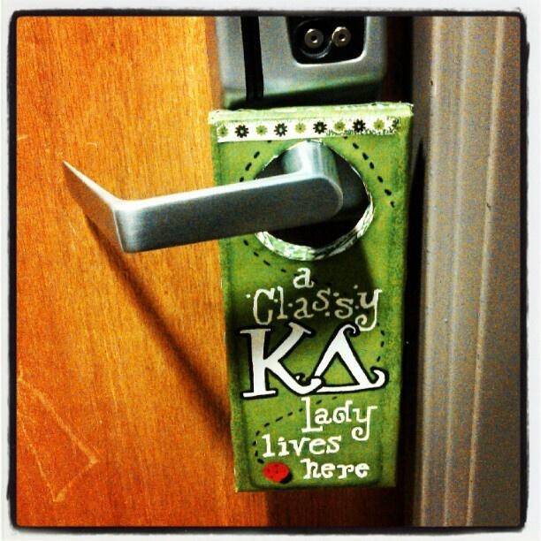A Classy Kappa Delta Lady Lives Here.