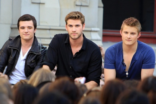 Holy crap: But, Josh Hutcherson, Games Boys, Game Boy, Hunger Games, Liam Hemsworth, Hungergames, Movie, The Hunger Game