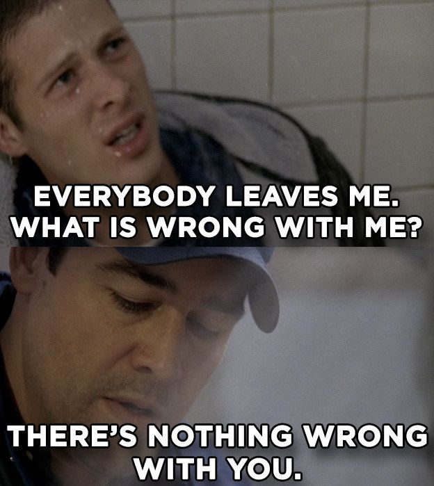"When Matt felt sad and abandoned by everyone in his life but Coach Taylor had his back. | 25 Times ""Friday Night Lights"" Made Us Feel Too Much"