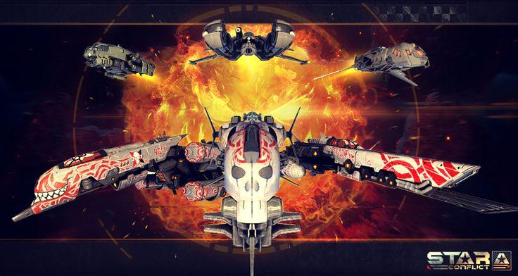 Star Conflict — это динамичный MMO экшн. http://inetrek.com/cgi-bin/banners.fcgi?type=1&pid=404967&bid=1169  Игра предоставляет возможность  сесть за штурвал космического корабля и принять участие в массовых битвах звездных флотилий.  Война с пришельцами погрузила освоенные миры в хаос. Галактика оказалась разделенной между остатками звездных империй независимыми группировками и корпорациями.  Наемники и искатели приключений всех мастей устремились в далекий сектор 1337 на самом краю…