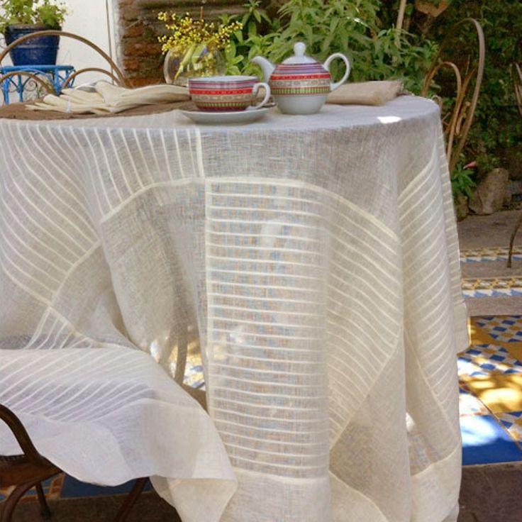 manteles de lino decoracin mesa manteles lino