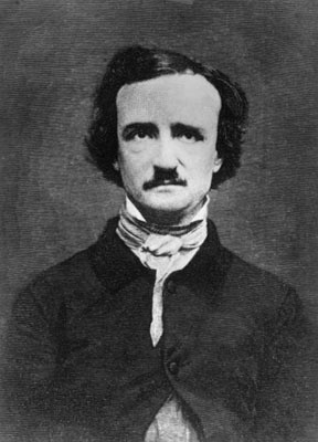 Edgar Allan Poe (1809-1849) according to ancestry chart my family name Pollock was the version adapted from Poe centuries later & my single name has us distantly related to this poet & writer wh o history now ays was a genius at his craft also greatly misunderstood at time he lived he had severe bi- polar condition hence the dark poetry & other famous writings.