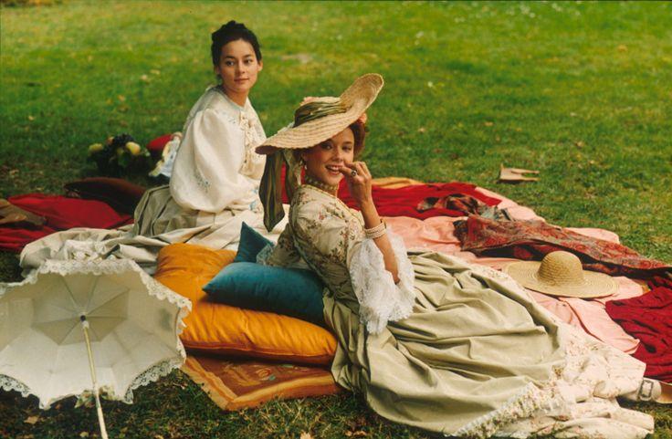 """perioddramastills: """" """"Meg Tilly & Annette Bening in Valmont (1989) """" """""""