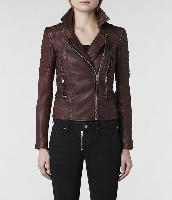 27 best Leather jackets images on Pinterest | Women leather ...