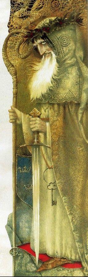 "http://kidpix.livejournal.com/1524254.html Павел Татарников - Король Артур, Pavel Tatarnikov ""Arthur of Albion"""