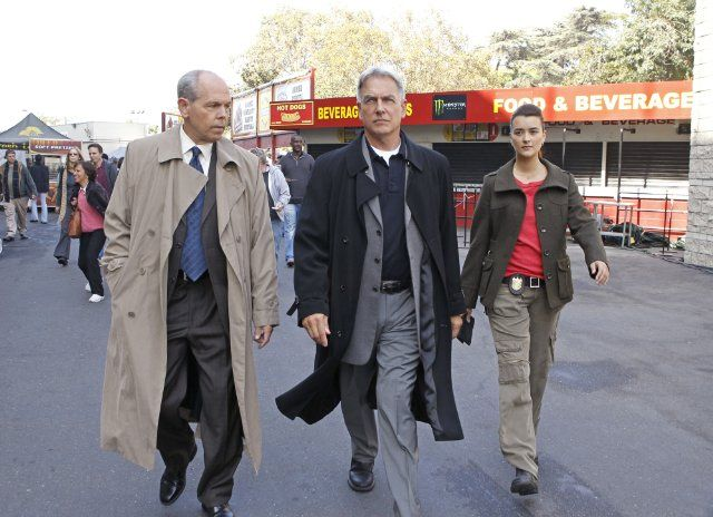 Mark Harmon, Joe Spano and Cote de Pablo in NCIS: Naval Criminal Investigative Service