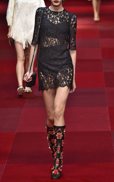 Dolce & Gabbana  Trunkshow Look 37 on Moda Operandi