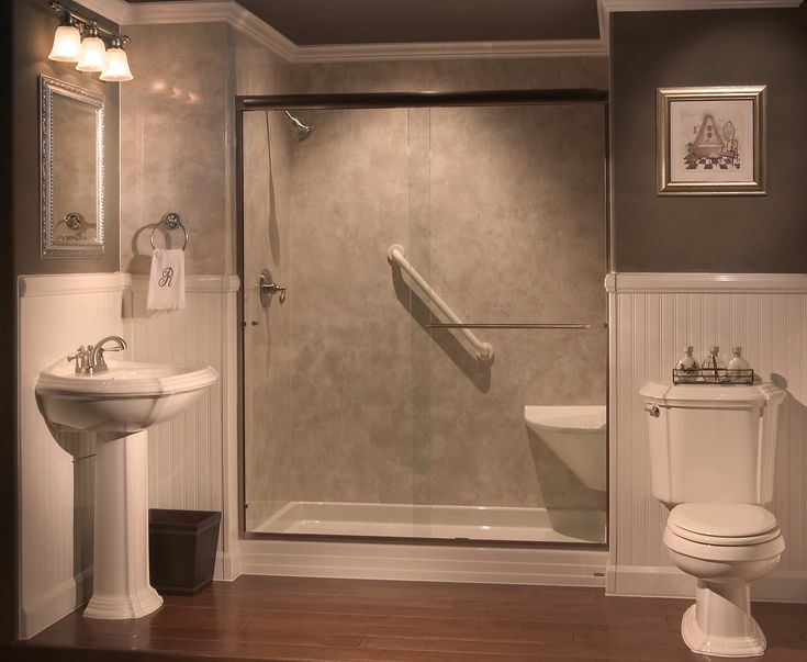 Showers With Seats Built In Tub To Shower Conversions In