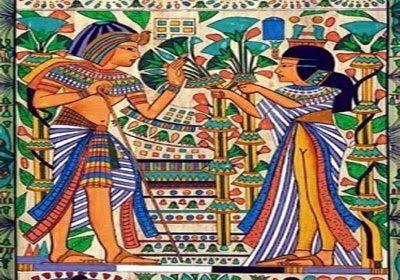 كنوز التاريخ .. قديمه وحديثه: قصة حب فرعونية عمرها 4400