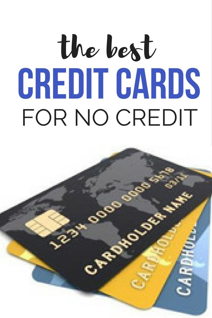 Credit Cards for No Credit - that can help you build your credit score.