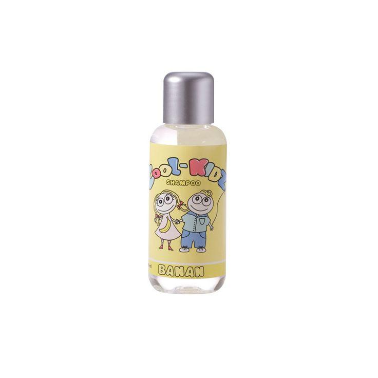 Køb Cool Kidz shampoo m. banan duft  - 100 ml. hos Med24.dk - din sundhedsbutik på nettet