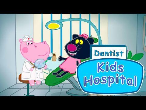 Peppa Pig en Français visite chez le dentiste - Jeu pour enfants - YouTube