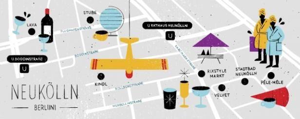 Berliinin trendikäs Neukölln   Mondo.fi