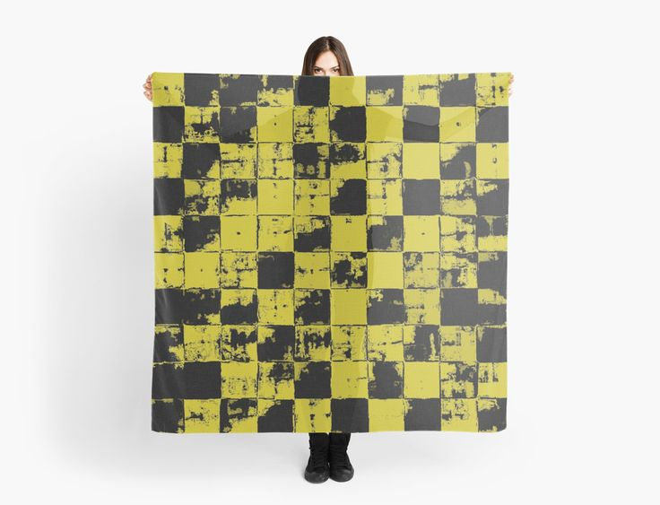 Grunge Yellow and Black Bricks Pattern by cool-shirts Also Available as T-Shirts & Hoodies, Men's Apparels, Women's Apparels, Stickers, iPhone Cases, Samsung Galaxy Cases, Posters, Home Decors, Tote Bags, Pouches, Prints, Cards, Mini Skirts, Scarves, iPad Cases, Laptop Skins, Drawstring Bags, Laptop Sleeves, and Stationeries #design #square #scarf #style #fashion