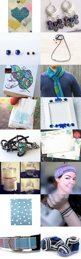 Blue Moments...!!!! by Effrosyni on Etsy--Pinned with TreasuryPin.com
