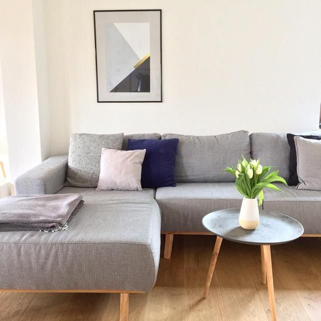 Die besten 25+ Couch grau Ideen auf Pinterest Couch grau - Wohnzimmer Design Grau
