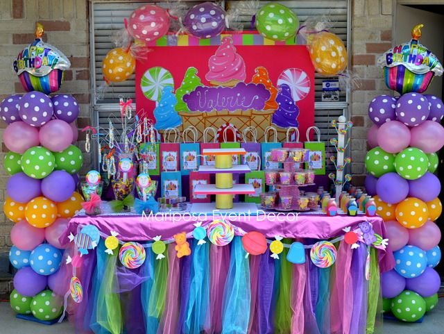 Candy Land Birthday Party Ideas Awesome Design